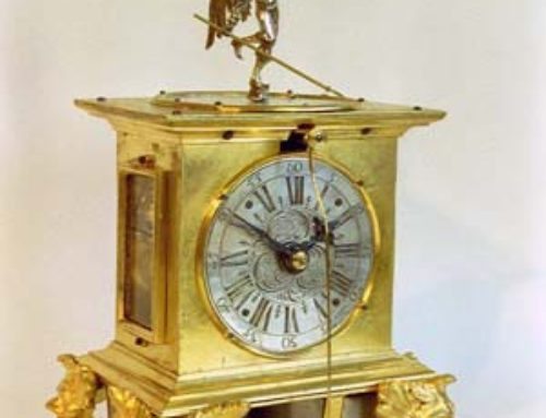 German table clock